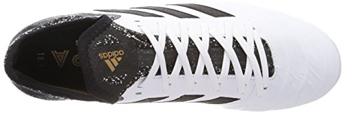adidas Herren Copa 18.1 SG Fußballschuhe Weiß (Footwear White/Core Black/Tactile Gold Metallic)
