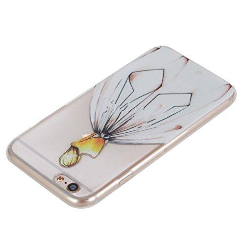 iPhone 6S Plus Hülle, iPhone 6 Plus Hülle, Gift_Source [ Wassermelone ] Hülle Case Transparent Weiche Silikon Schutzhülle Handyhülle Schutzhülle Durchsichtig TPU Crystal Clear Case Backcover Bumper Ca E1-Hochzeitskleid Mädchen