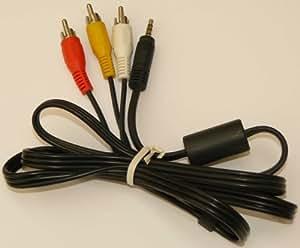Câble vidéo/audio - RCA (M) -Mini JACK(M) 3.5 mm