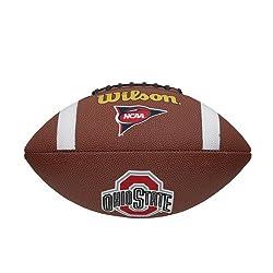 Wilson Ncaa Team Logo Football - Ohio State