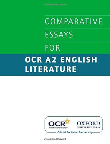 Comparative Essays for OCR A2 English Literature