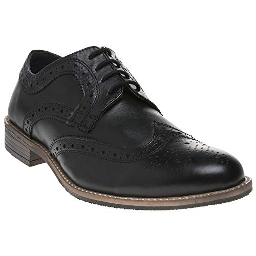 Silver Street Milton Herren Schuhe Schwarz