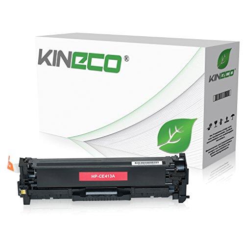 Kineco Toner kompatibel zu HP CE413A für HP Laserjet Pro 300 Color M351a, MFP M375nw, Laserjet Pro 400 Color M451dn dw nw, M475dn dw - 305A - Magenta 2.600 Seiten