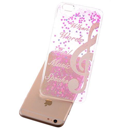 Beiuns Coque en Plastique Circuler liquide pour Apple iPhone4 4G 4S Housse Case - WM542 bonhomme de neige WM548 Remarque