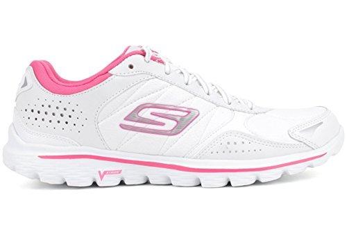 80bd30d601ee92 Skechers 13973-whp Performance Women S Go Walk 2 Flash Lt Walking Shoe-  Price in India