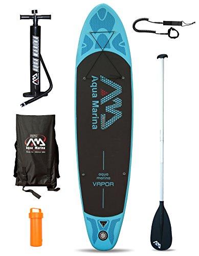 #Aquamarina Vapor Aufblasbares Stand Up Paddle Board, 3,3 m, Herren damen, Board + Paddle + Leash#