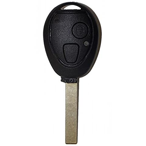 Coque de clé plip 2 boutons BMW Mini Cooper S D One Clubman Cabrio SANS LOGO