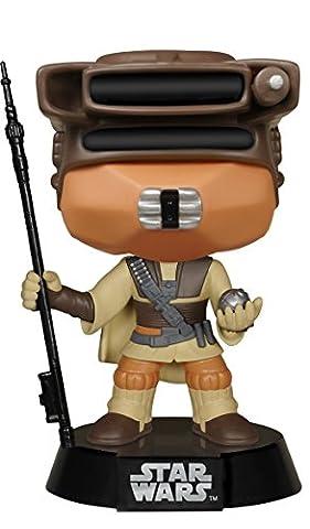 Funko - Figurine POP Star Wars Bobble: Princess Leia Boushh