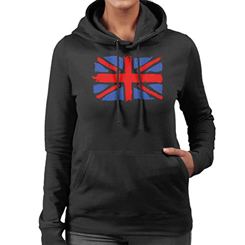 My Union Jack Women's Hooded Sweatshirt Black