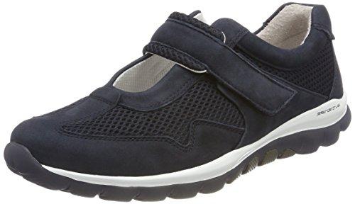 Gabor Shoes Damen Rollingsoft Derbys, Blau (Nightblue), 43 EU