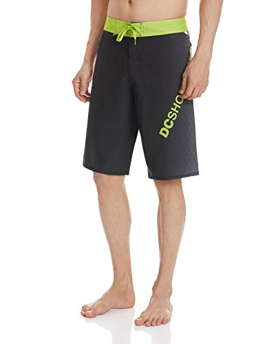 DC Shoes CHILLED VIBE 22 M BDSH KVJ1-Shorts Uomo    Verde (Chilled Green) ,32