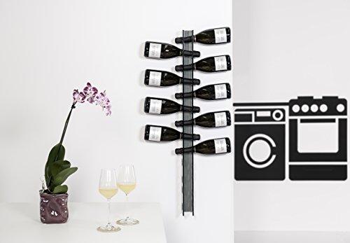 Iplex-Design-Bibenda-Big-Portabottiglie-da-Parete-PlexiglassPMMA-Fum-Trasparente-6x11x100-cm