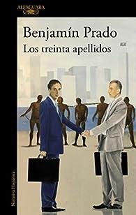 Los treinta apellidos par Benjamín Prado