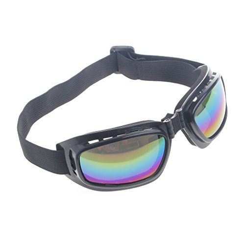 Yintiod Faltbare Schutzbrille Ski Snowboard Motorrad Brillen Brillen Augenschutz Farbe: Bunt
