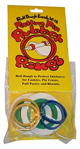 Rolling Hills Rubber Rolling Pin Rings