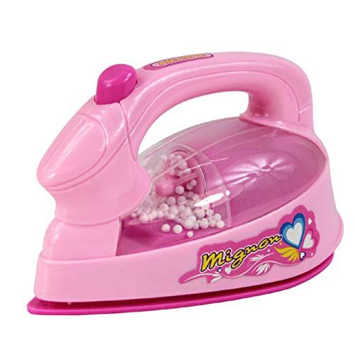 joizo 1PC Puppenstuben Zubehör Spielzeug Mini Nette Möbel Spielzeug Haus Haushaltsgeräte Lernspielzeug für Kinder Geschenke (Bügeleisen)