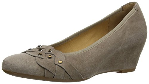 Gabor - Riona, Scarpe Col Tacco da donna Marrone (Brown (Taupe Suede))