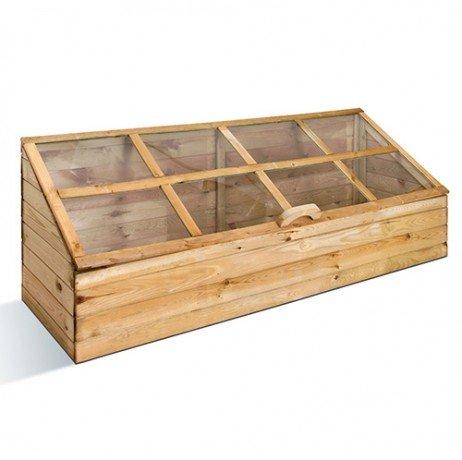 Serre en bois quadruple - longueur : 100 cm
