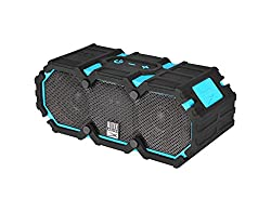 Altec Lansing - Mini Life Jacket 3 Portable Wireless and Bluetooth Speaker - Aqua Blue