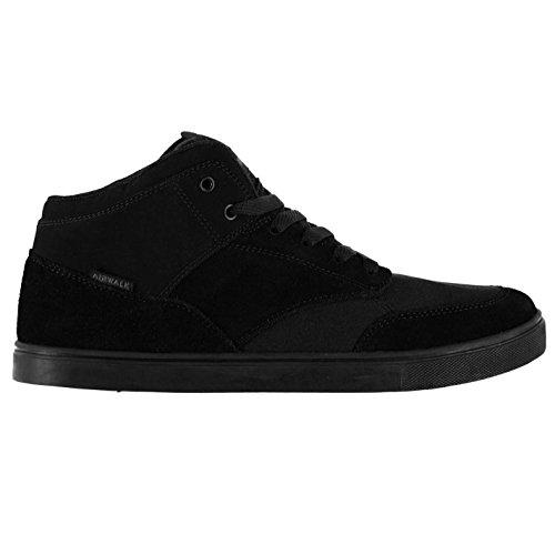 airwalk-breaker-mid-skate-homme-chaussures-baskets-a-lacets-sneakers-sport-noir-95-435