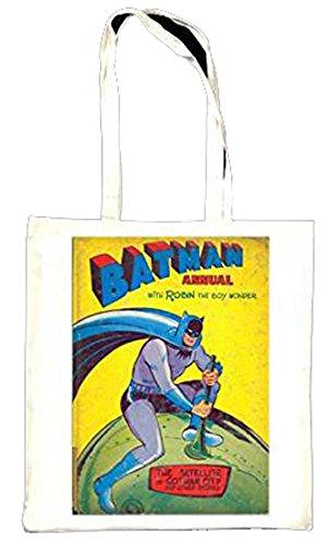 Batman avec Wonder Boy Robin annuelle Totebag Couverture de livre