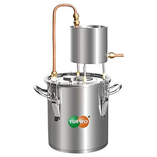 YUEWO Cuve de Fermentation en Acier Inoxydable,Kit de Brassage Maison Fermentation du Vin Usage...