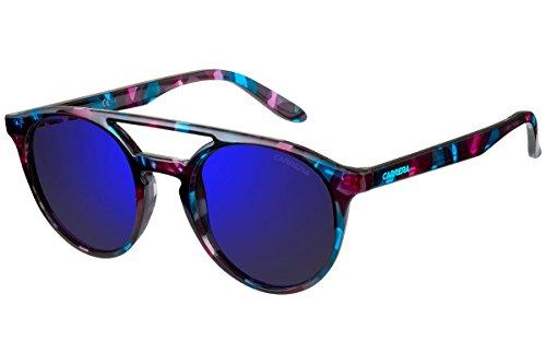 Carrera Unisex-Erwachsene 5037-S-UZ4-XT Sonnenbrille, Blau (Azul), 49