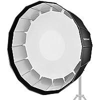 Neewer 120 Zentimeter Tief Sechzehneck-Softbox - Schnell zusammenklappbar mit Bowens Speedring und Diffusor für Speedlite Studio Flash Monolicht, Portrait und Produktfotografie