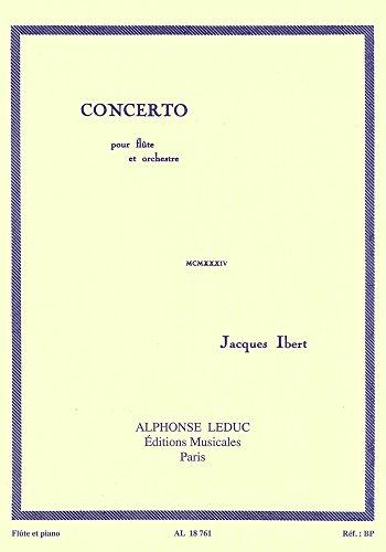 CONCERTO (FLUTE ET ORCHESTRE) FLUTE ET PIANO