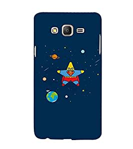 EPICCASE Space star Mobile Back Case Cover For Samsung Galaxy E7 (Designer Case)