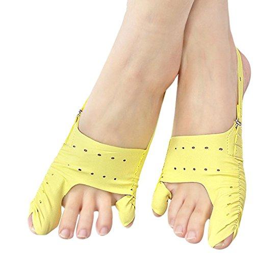 Fuse-link-kit (WAOBE Fuß-Daumen-Valgus-Korrektur kann den ganzen Tag und Nacht verwendet werden Ultradünne atmungsaktive Orthese Daumen Valgus Zehen überlappen Orthese , s)