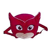 Official Licensed Kids Large PJ Masks Plush Backpack Red Owelette 34cm