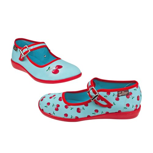 Hot Chocolate Design Chocolaticas Cherry Damen Mary Jane Halbschuhe Mehrfarbig