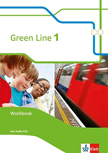 Produktbild Green Line 1: Workbook mit 2 Audio-CDs Klasse 5 (Green Line. Bundesausgabe ab 2014)