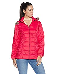 Fort Collins Womens Cape Hoodie (6625 AZ_pink_M)