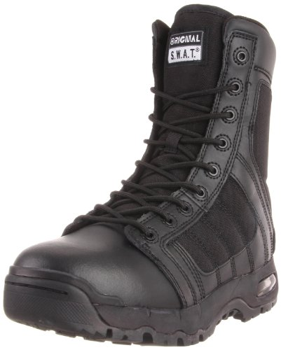 Original S.W.A.T. Metro Traction Air 9 in. Side Zip, Black, Size 13