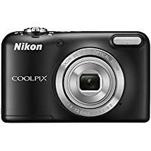 Nikon COOLPIX L31 Compact Digital Camera - (16.1 MP, 5x Optical Zoom) 2.7-Inch LCD - Black