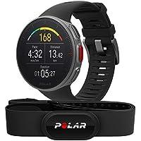Polar Vantage V, Sportwatch per Allenamenti Multisport e Triathlon, con Sensore H10, Impermeabile con GPS e Cardiofrequenzimetro Integrato, 46 x 46 x 13 mm, Unisex Adulto, Nero