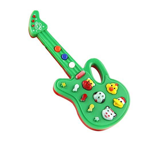 Fangfeen Guitarra Sonidos electrónicos Juguete de Cuna del Juego de niños del Juguete (Color al Azar)