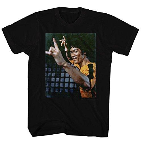 Bruce Lee - Herren Yeeeaaahh T-Shirt Black
