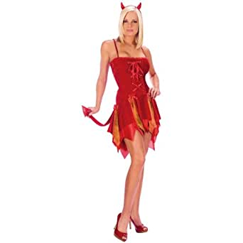 Sexy diable Adulte Costume Coquin / Déguisements - Small / Medium (2-8)