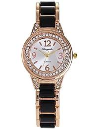 XKC-watches Relojes para Hombres, señoras Relojes Reloj de Diamantes imitación de cerámica Reloj