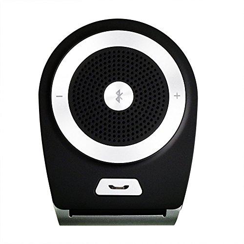 Freisprecheinrichtung Bluetooth Visier Car-Kit Car SpeakerPhone Bluetooth V4.1 für die Sonnenblende - Handsfree für 2 Telefone gleichzeitig - Wireless Sun Visor Speakerphone