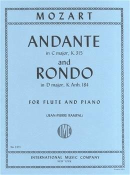 Andante in C KV 315 & Rondo in D K.Anh 184 for Flute & Piano
