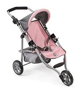 Bayer Chic 2000 612 15 Jogging Lola - Cochecito para muñecas, Color Rosa