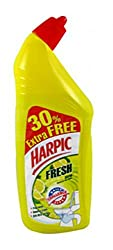 Harpic Fresh Citrus - 500 ml with 30% Extra Free (Lemon Flavour)