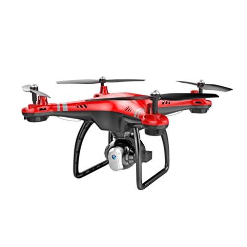 ASHOP x8 2.4G Drone RC Quadcopter Stromanpassung 0.3MP HD Kamera FPV, Headless-Modus, 360-Grad-Rollover, eine Taste Automatische Rückkehr, LED, mit Strom Anpassung Kamera,Rot
