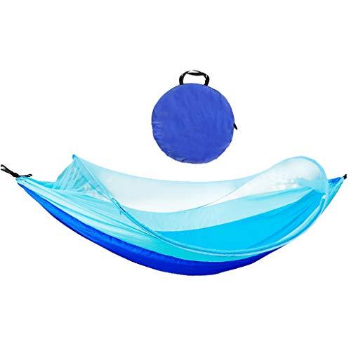 Nosterappou Ligero y portátil, almacenamiento elegante, mosquitera hamaca acampar al aire libre...