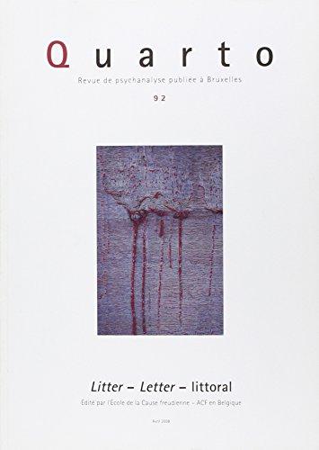 Quarto 92 - Litter, letter littoral