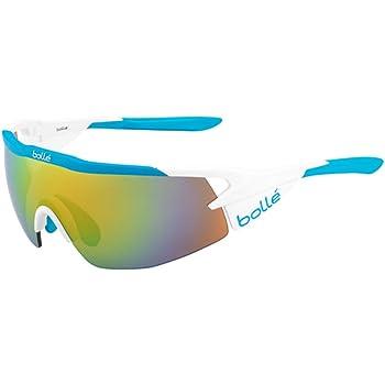 Bollé (CEBF5) 12309 Gafas, Unisex Adulto, Blanco (Matte) / Azul